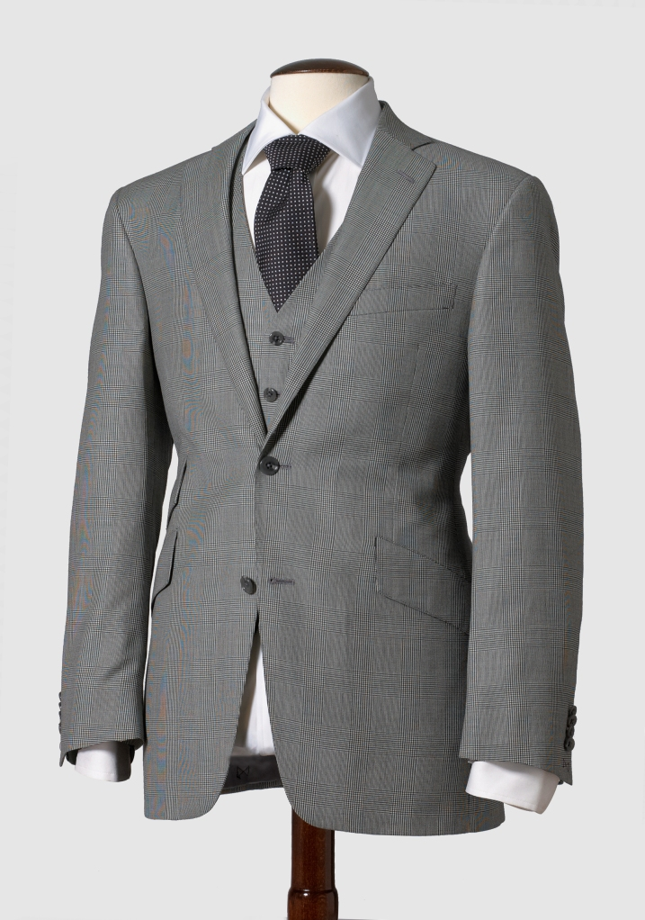 125th Anniversary Glen Plaid Suit, available for a limited time only for $594.99 at hartschaffnermarx.com.