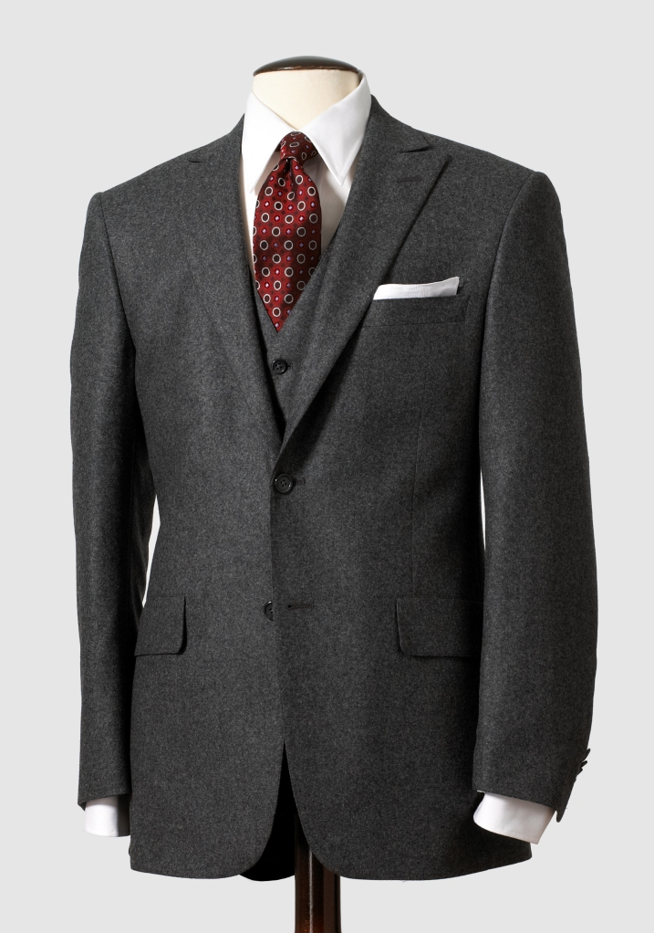125th Anniversary Grey Flannel Suit, $995, available at hartschaffnermarx.com