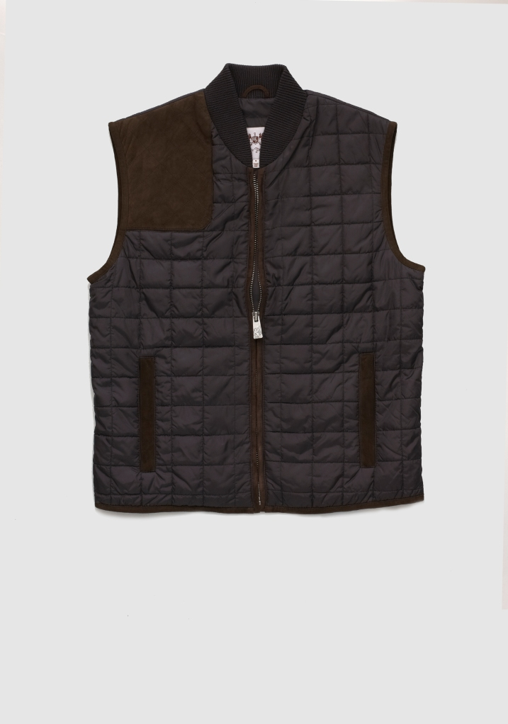 Sterling Collection Bradford Vest, $395, available at hickeyfreeman.com