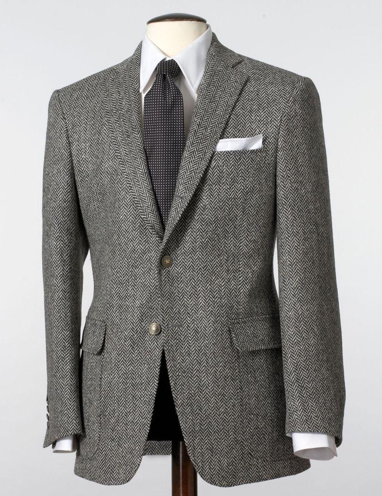 herringbone sportcoat