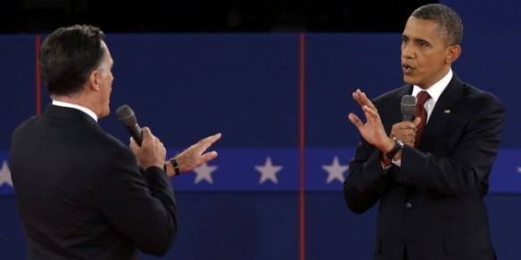 Style is a bipartisan issue. At the October 17 presidential debate, President Barack Obama wore a Hart Schaffner Marx suit.