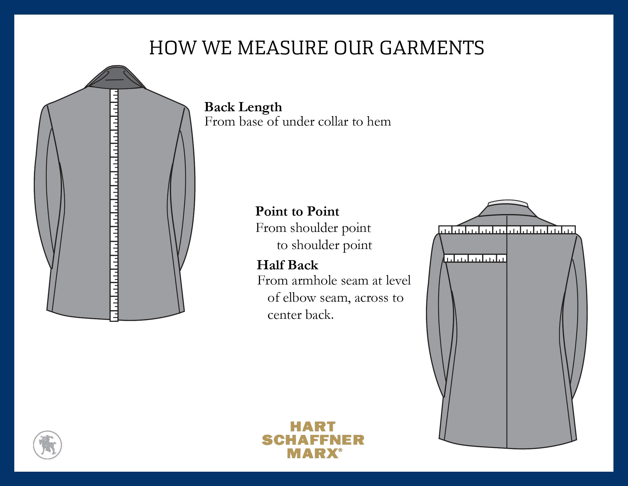 how to take jacket measurements