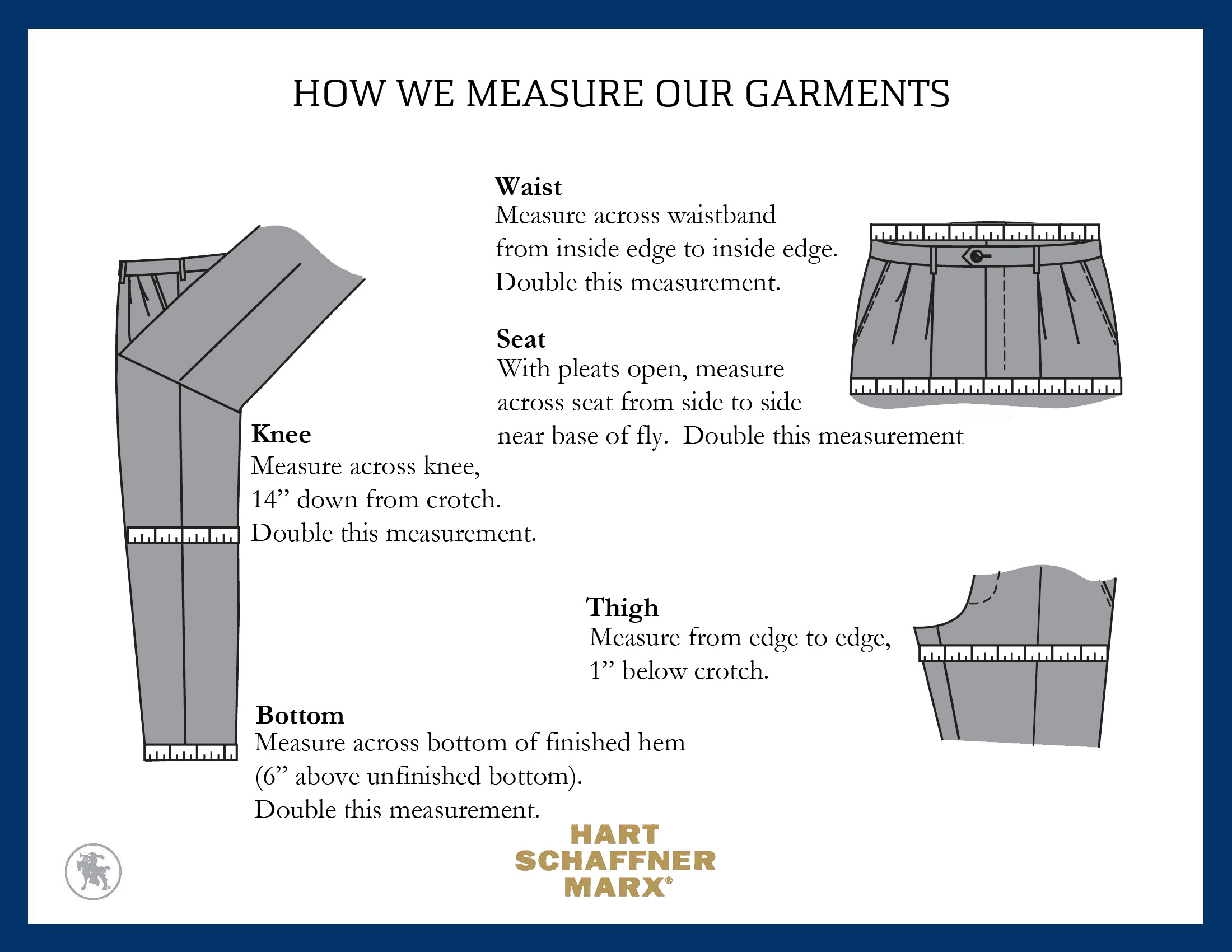 Measuring tailored clothing